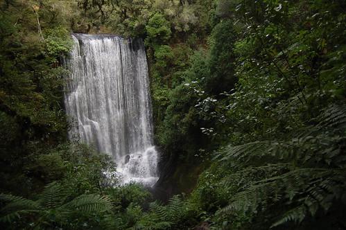 Nový Zéland - Lake Waikaremoana