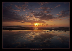 Orange Reflections (l plater) Tags: panorama seascape clouds sunrise reflections landscape dawn waves horizon sydney australia panoramic reflexions northernbeaches ptgui deewhybeach mywinners avision anawesomeshot diamondclassphotographer flickrelite theperfectphotographer lplater unlimitedphotos thegoldproject