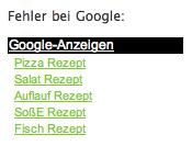 SoßE bei Google