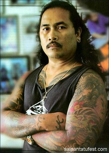 GARAPAN, Saipan - Filipino tattoo artist Edward Elenzano, popularly known in