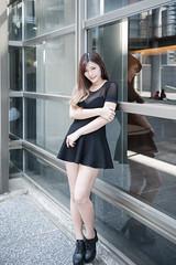 DSC_5459 (錢龍) Tags: 陳葳 d700 美術館 nikon 外拍 美胸 beauty girl sexy