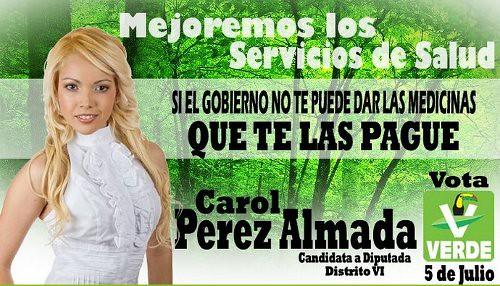 Carol Perez Almada - Partido Verde