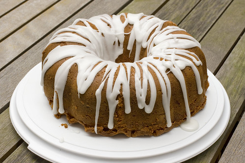 Fresh Ginger Bundt with Lemon Glaze 4