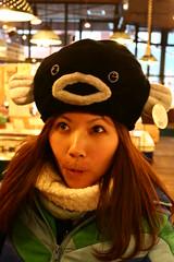 YC一直叫我買這頂河豚帽