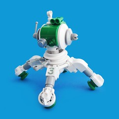iito v03 (Fredoichi) Tags: robot lego space bot multiped cutebot fredoichi