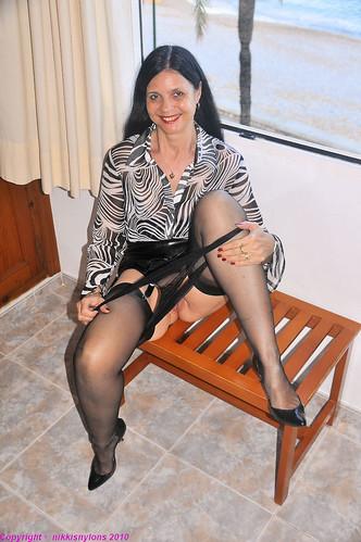 braless trend see thru pics: panties, suspenderbelt, lingerie, milf, mature, shaven, sheer, seam, stockings, seethru, pussy, ffs, heels, nikki, bra, garterbelt, tits, braless, nylons, legs, nikkisnylons, welt