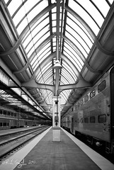 Union Station Platform 4636 (rjseg1) Tags: railroad chicago station architecture train union platform skylight rail graham burnham segal beauxarts rjseg1
