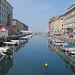 Trieste: canal grande