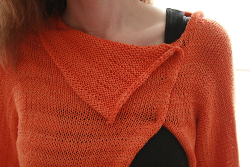 Sunset Cardi neck