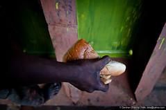 This is it he earns (Inside an iron cave-9) (Darshan Chakma) Tags: boy food nikon meal dhaka bp grab bangladesh hold tiffin d90 bangladeshiphotographers darshanchakma