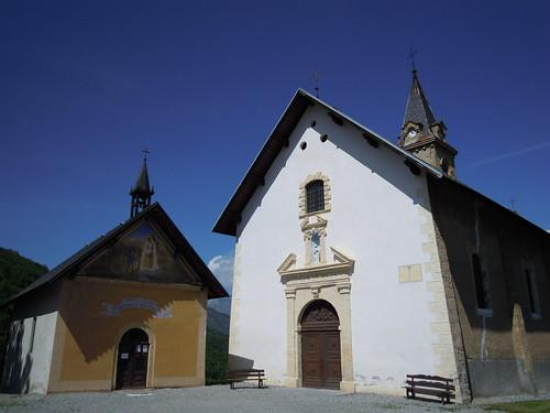 Foncouverte - ND de la Salette et église ND de l'Assomption © D. Dereani-Fondation Facim