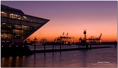 Hamburg nights .... (AndreaKamal.com) Tags: winter sunset architecture germany deutschland bravo searchthebest hamburg officebuilding architektur docklands bec soe elbe dockland themoulinrouge eow supershot magicdonkey outstandingshots abigfave shieldofexcellence anawesomeshot superaplus aplusphoto diamondclassphotographer ysplix overtheexcellence thegardenofzen thegoldendreams httpwwwandreakamalde