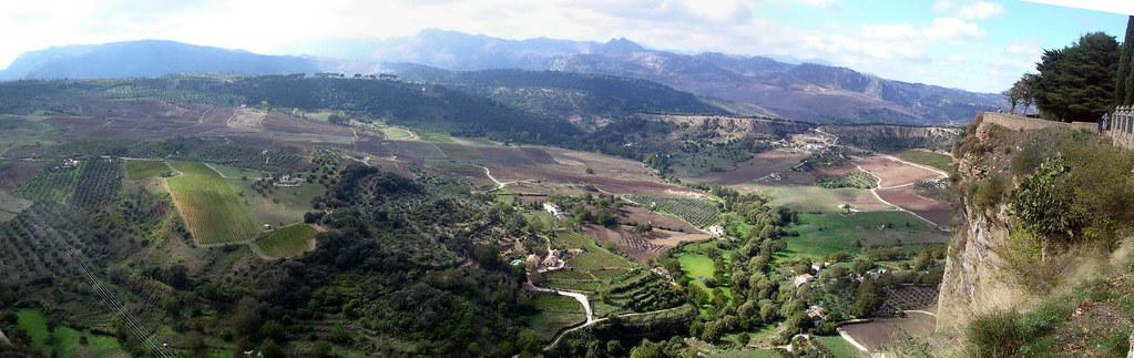 panorama of Ronda