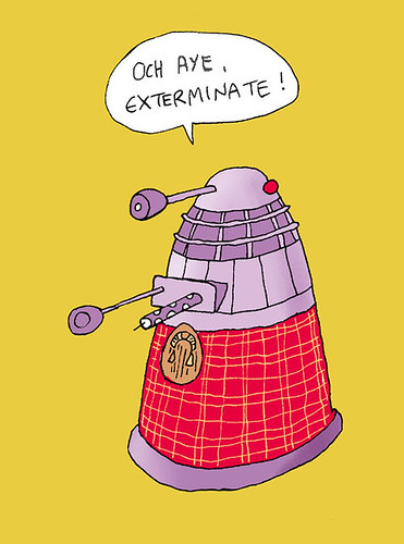 Scottish Dalek
