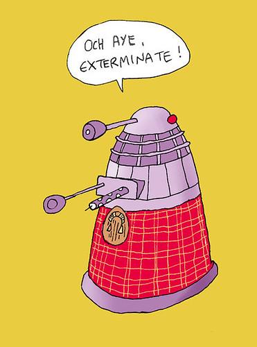 Scottish Dalek