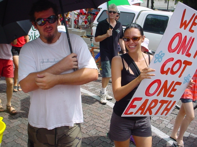 Walk Against Global Warming Cairns 2007 / photo # 04