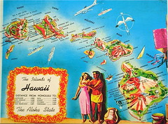 The Islands of Hawaii map postcard (Smaddy) Tags: cruise usa bird plane island hawaii boat ship pacific waikiki oahu map postcard maui kaneohe hana kauai diamondhead tropical waimea niihau poipu pearlharbor hi honolulu hilo kalalau wailua aloha kona hanalei lahaina lanai kilauea captaincook koloa kapaa kailua makaha kahuku makapuu maunaloa molokai haena keanae hawi wailuku kalaupapa laupahoehoe lihue kahului laie menehune kekaha nawiliwili halawa upolu honokaa barkingsands hakalau plastichrome colourpicture kaunakaka funaluu