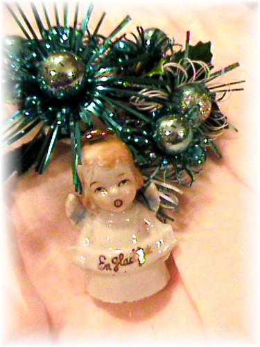 Swedish Vintage Christmas angel