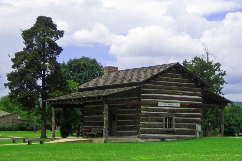 Log Cabin circa 1851