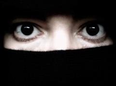 Burqa a Metà