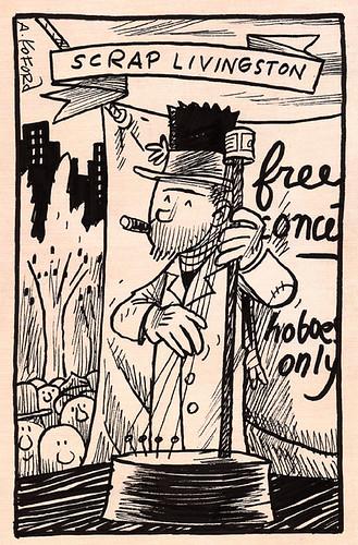 Scrap Livingston, Hobo Musician