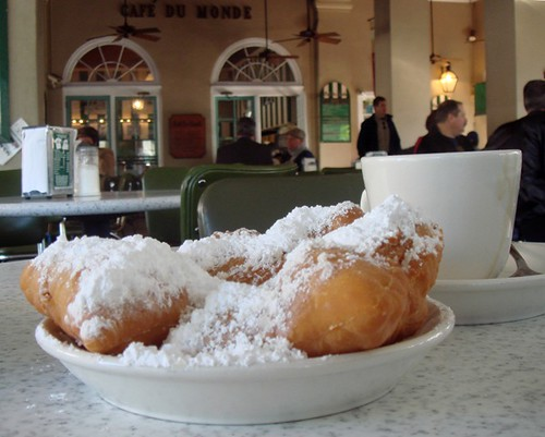 Beignets and Cafe Au Lait