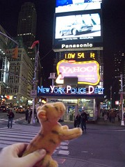 Tigger in Times Square