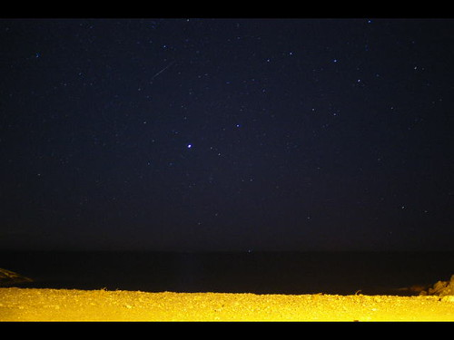 Geminids as seen on camera