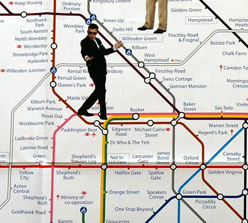 Madness Tube Map Detail