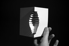 structure (Richard Sweeney) Tags: sculpture paper photography card popup papercraft greetingscard richardsweeney