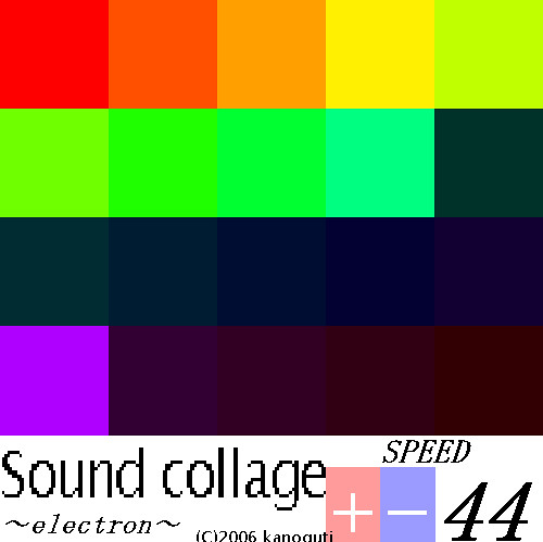Sound Collage Electron