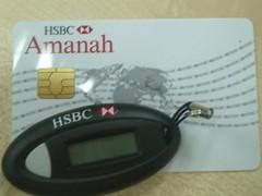 Kartu dan Key HSBC