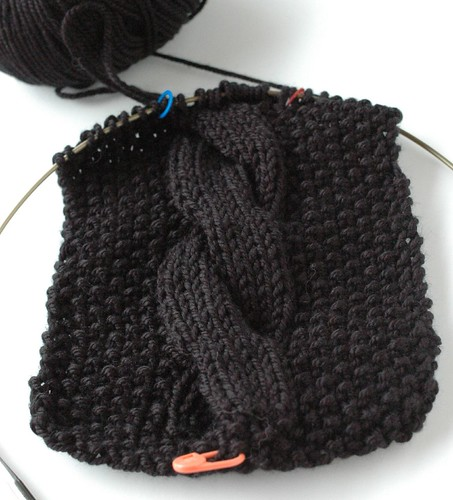 Karabella soft cabled scarf