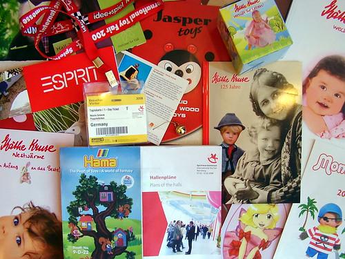 toyfair catalogues - kataloge von der spielwarenmesse