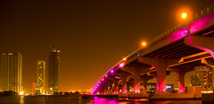 Miami Vice (Face-2-Face) Tags: pictures road street longexposure bridge pink blue winter sunset summer sky orange sun blur streets tourism water colors yellow night speed buildings palms boats lights neon heaven paradise open nightshot superb florida miami getaway vice fast lagoon ferrari delight homestead fl wade roads portfolio nba ibb speeding aaa badboys miamivice flordia crockett sobe testarossa lebron miamipics tubbs cloudnine miamiflorida miamiskyline macarthurcauseway orona mywinners abigfave winterinmiami picsfrommiami picturesfrommiami ropall worldbeautiesguide
