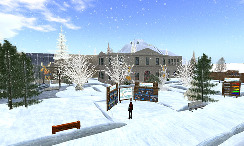 Virtual Iditarod in Second Life