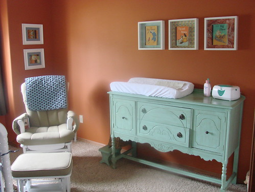 Vintage nursery decor by kmk7878.