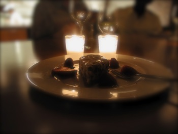 Dessert by Candlelight