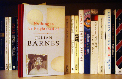Cover of Nothing to be Frightened of by Julian Barnes