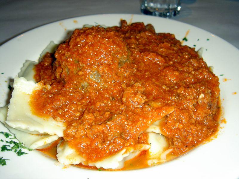 Ravioli and Meatball
