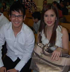 JOHN PRATS & SHAINA MAGDAYAO (photo by VER PAULINO)