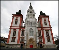 Mariazell. (KonradS) Tags: church austria sterreich steiermark styria oesterreich mariazell wallfahrt wallfahrtsort piligrimage