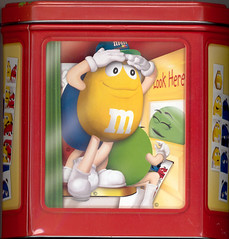 M&M's Photobooth Tin