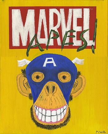 Mono del Capitán America