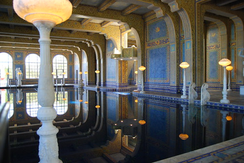 Hearst Castle Indoor Pool by allistair