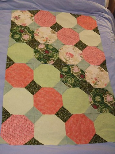 Snowball quilt layout