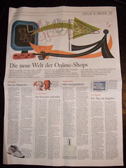 Shopping in der FAZ