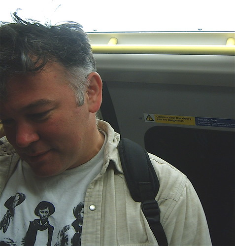 Stewart Lee on the Tube