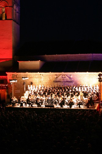 Torre de San Juan  y orquesta