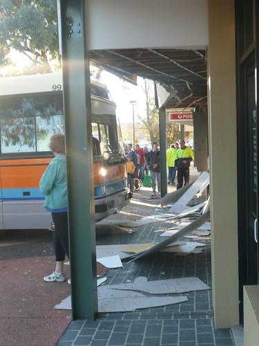Bus enters Kippax